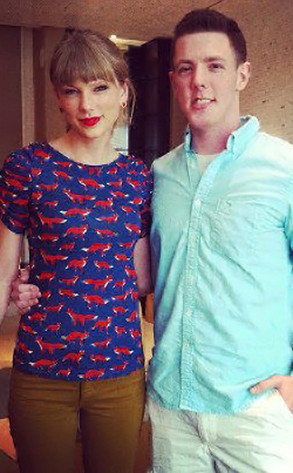 Taylor Swift, Kevin McGuire, Facebook